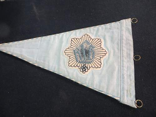 Please let me know what you think about this pennant.