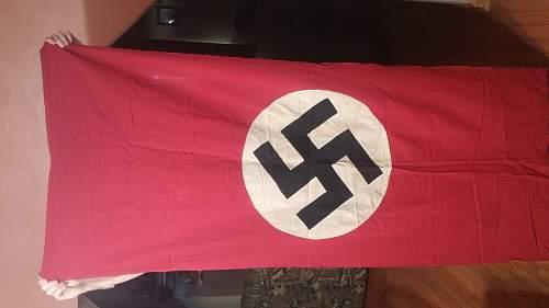 Nazi banner