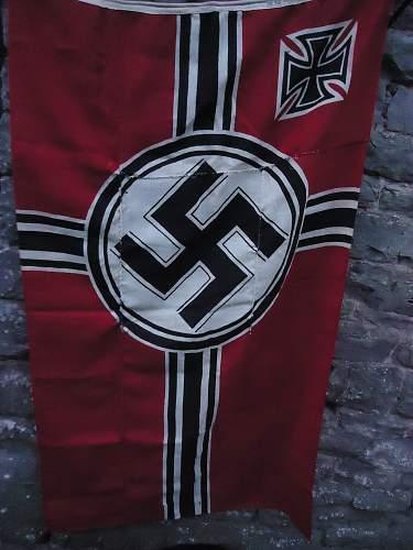 War Weary Reichs Kriegs Fahne