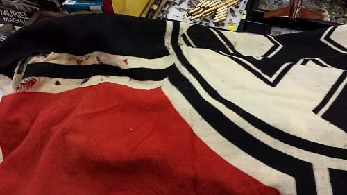 Large Reichskriegsflagge