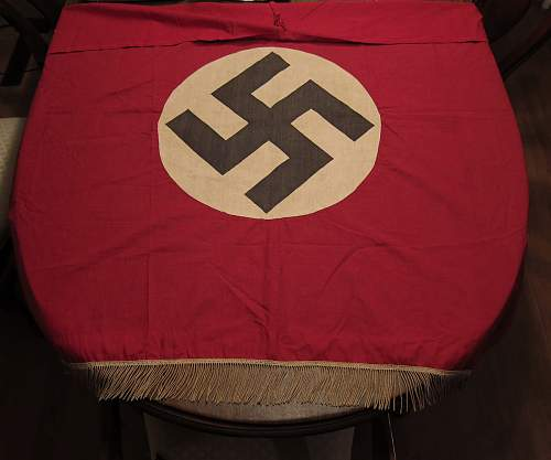 NSDAP Banner  for opinions - odd red color