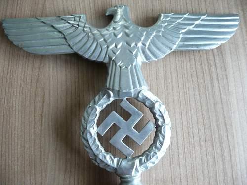 NSDAP Flag Pole Top (RZM M3/4038?)
