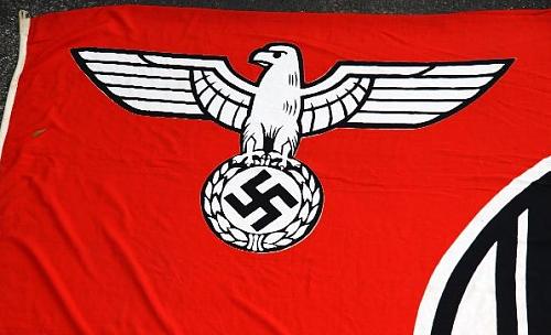 Reich service flag