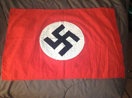 Small NSDAP Flag for Review