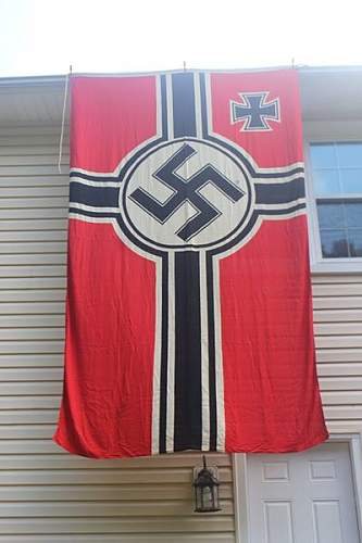 Large Kriegsmarine Flag for your review