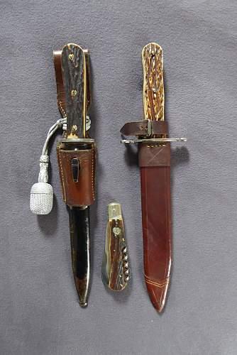 Forestry - Staggrip - Deutche Jagerschaft - Hunting blades