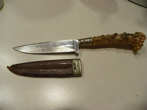 Stag handle boot knife any info