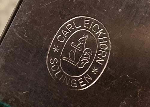 Senior Forestry Cutlass - Carl Eickhorn