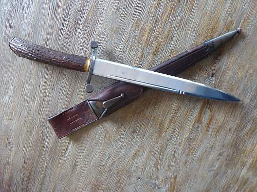 Falconry knife - Falkner Messer an unknown beauty