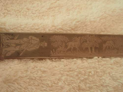 Two Hunting Related Blades