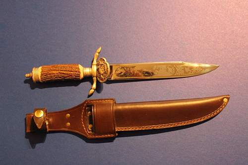 German hunting knife for comments .