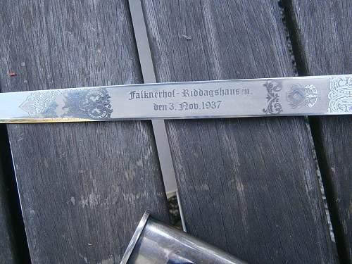 Third Reich Hunting dagger