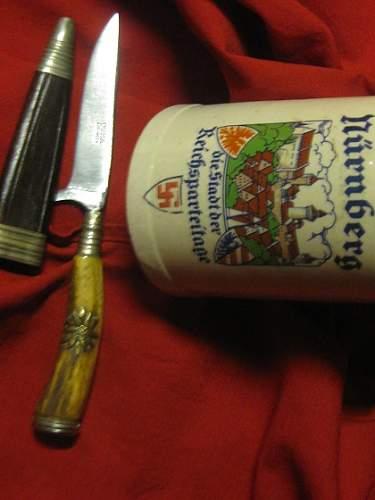 Nuernberg Souvenir knife