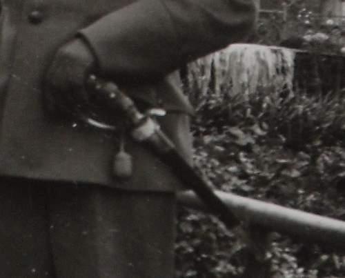 """Army """"Besten Schutzen"""" Hirschfanger and Luftwaffe Forestry sidearm..."""