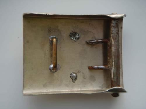 Unknown 3 Reich buckle