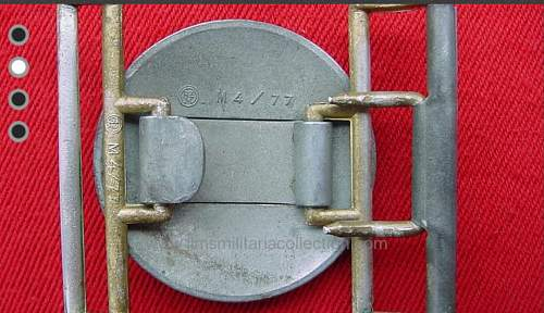 ID'ing Belt and buckle