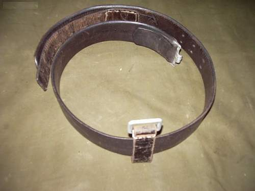 Does this look like a genuine ww2 period german belt ?