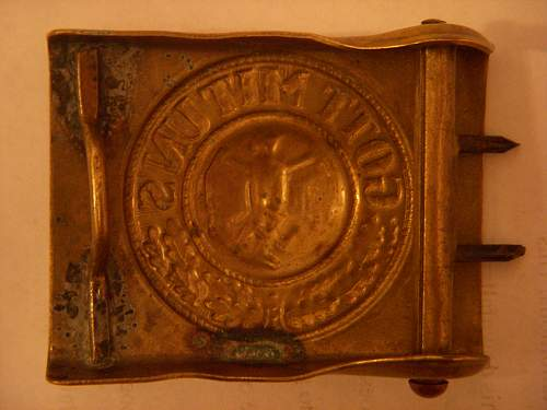 Is this belt buckle real or fake?