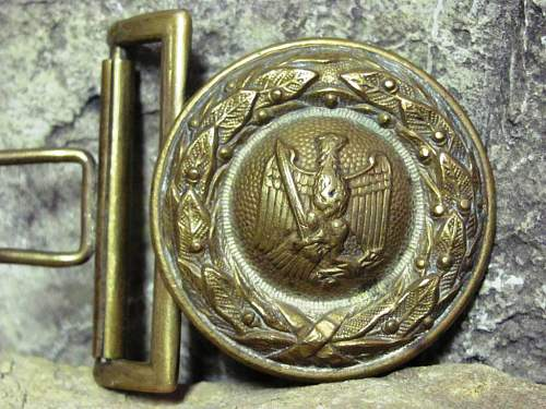 Forestry buckle
