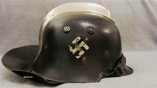 Helmet liner with same maker as buckles