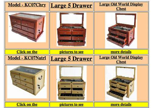 Koppelschloss Collection Display/Storage: Examples, Ideas & Opinions