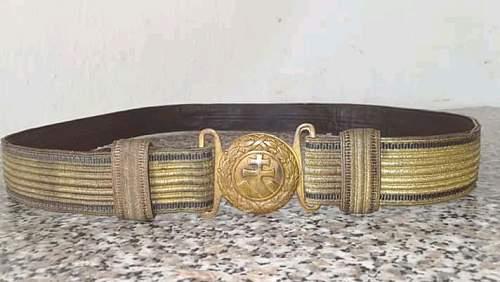 Hlinka guard belt?