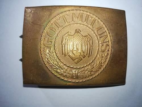 Original german belt buckles?
