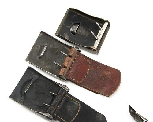A Very Interesting Lot of Buckles