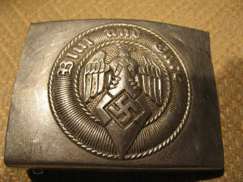 My buckles for review: Heer, HJ and Luftwaffe