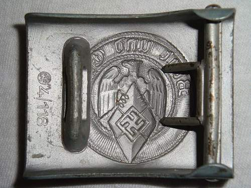 Click image for larger version.  Name:HJ16 - Zinc, die-stamped, RZM M4 118 reverse.jpg Views:449 Size:262.7 KB ID:199218