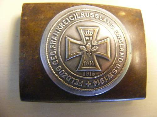 My new acquisition -patriotic buckle