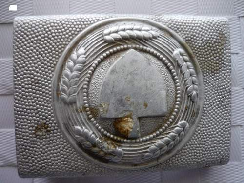 Help with buckles: RAD and Luftwaffe