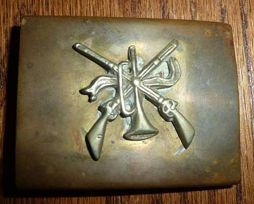 Shooting Association Buckle