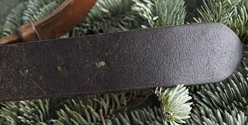 austrian belt w/buckle