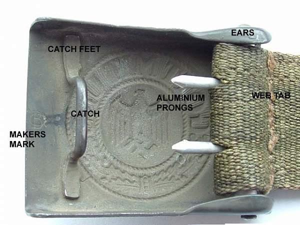 Buckle and Belt characteristics, originals & fakes
