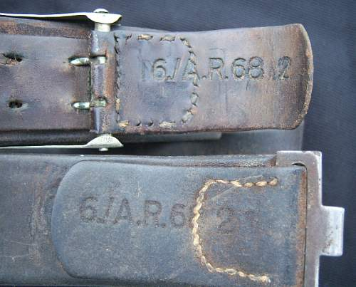 Belt & Buckle sets