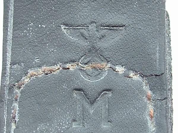 Click image for larger version.  Name:M4_60 Steel Gustav Brehmer Coastal Arty 1943 Tab KM Stamp.JPG Views:136 Size:128.9 KB ID:25417