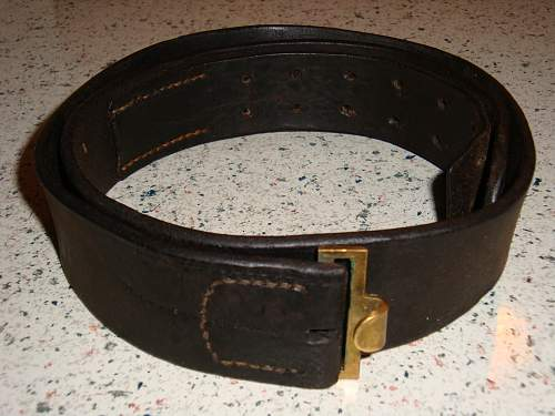 Click image for larger version.  Name:Unidentified Swastika Buckle Belt Strap.jpg Views:100 Size:224.7 KB ID:257141