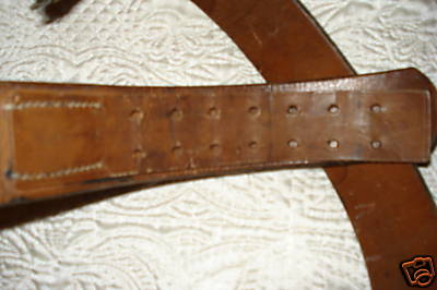 1937 dated belt