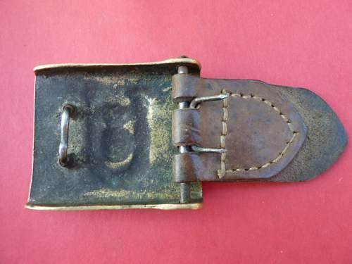 Kroatien, Ustasa belt buckle,Original?