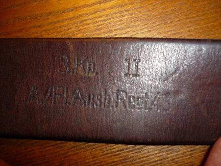 Belt markings information wanted