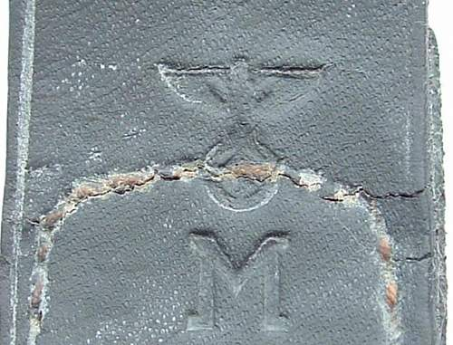 Click image for larger version.  Name:M4_60 Steel Gustav Brehmer Coastal Arty 1943 Tab KM Stamp.JPG Views:58 Size:73.7 KB ID:3289