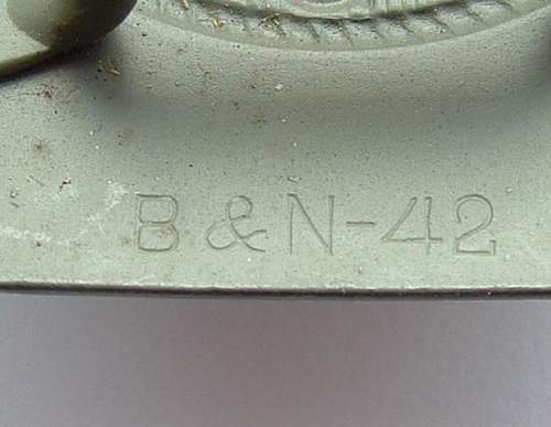 Click image for larger version.  Name:M4_30 Steel Berge & Nolte  1942 Makers.JPG Views:100 Size:45.6 KB ID:3303