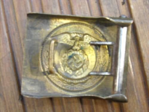 German belt buckles
