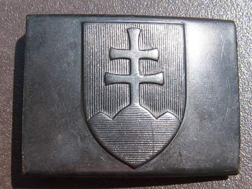 WWII Slovakia belt buckle. need help!