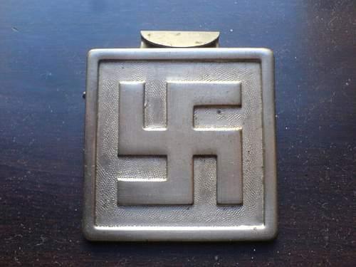 Rare Nazi Belt Buckle or Fantasy Piece?