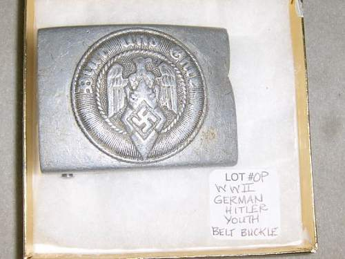Luftwaffe & Hitler Jugend coming up at local auction