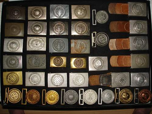 Buckles and more buckles