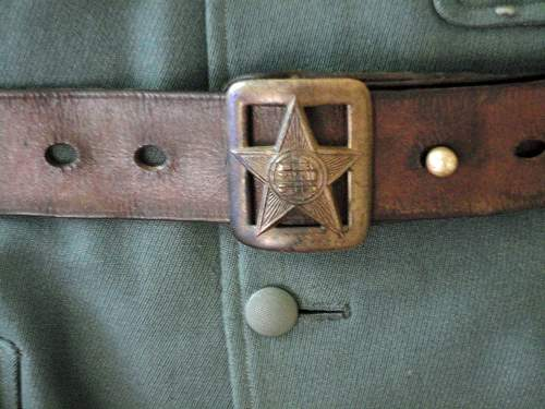 Russian m35 officerbelt reissued for POA use