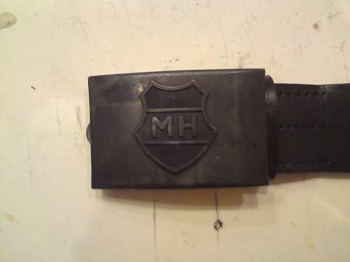 "unknown ""MH"" buckle."